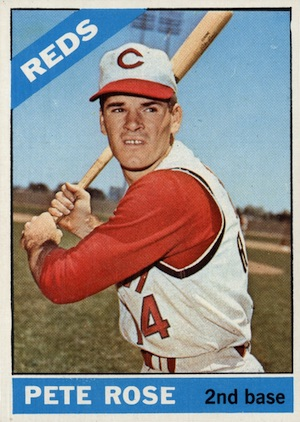 1966 Topps Baseball Pete Rose