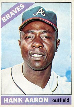 1966 Topps Hank Aaron