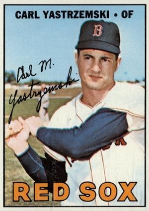1967 Topps Baseball Yastrzemski
