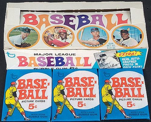 1969 Topps Baseball Box Pack