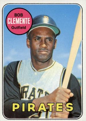 1969 Topps Baseball Clemente