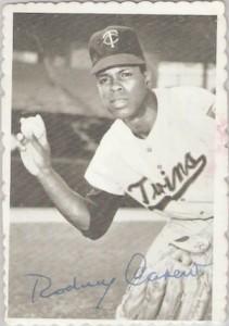 1969 Topps Baseball Deckle Carew