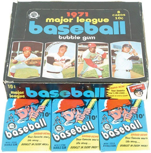 1971 Topps Baseball Cards 5