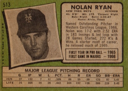 1971 Topps Baseball Cards 2