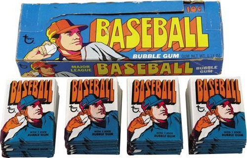 1972 Topps Baseball Box Pack