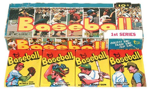 1973 Topps Baseball Box Pack