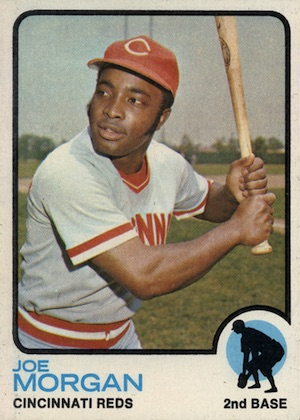 1973 Topps Baseball Joe Morgan