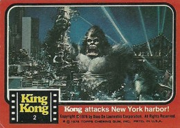 1976 Topps King Kong Trading Cards 1