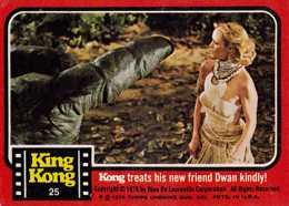 1976 Topps King Kong Trading Cards 23