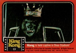1976 Topps King Kong Trading Cards 3