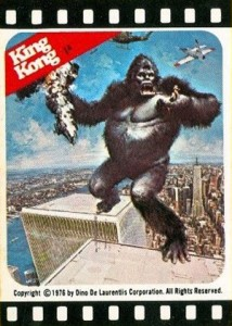 1976 Topps King Kong Trading Cards 24