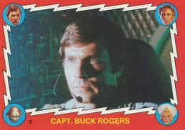 1979 Topps Buck Rogers Trading Cards 1