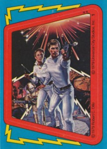1979 Topps Buck Rogers Sticker