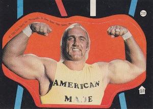 1985 O-Pee-Chee WWF Pro Wrestling Stars Stickers 11 Hulk Hogan