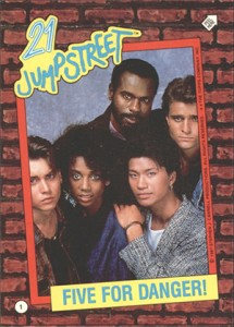 1987 Topps 21 Jump Street Trading Cards 3