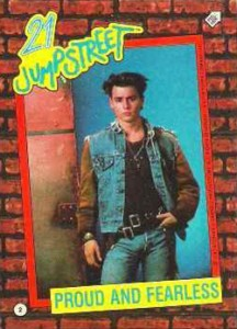 1987 Topps 21 Jump Street Trading Cards 2