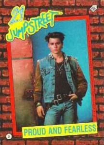 1987 Topps 21 Jump Street Base 2