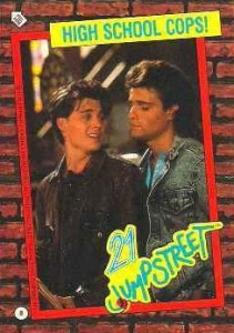 1987 Topps 21 Jump Street Trading Cards 1