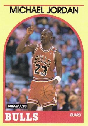 1989-90 NBA Hoops Basketball Cards 11