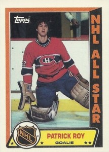 1989-90 Topps Hockey Stickers Patrick Roy