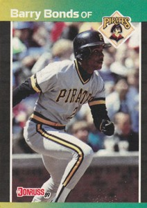 1989 Donruss Barry Bonds