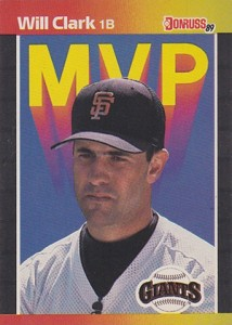 1989 Donruss MVP Will Clark