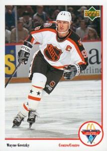 1991-92 Upper Deck McDonald's Base Wayne Gretzky