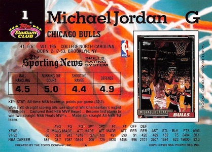 1992-93 Stadium Club Basketball Cards 4