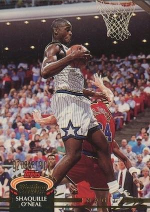 1992-93 Stadium Club Basketball Cards 7