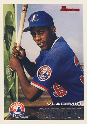 Vlad the Hall of Famer! Top 10 Vladimir Guerrero Baseball Cards 8