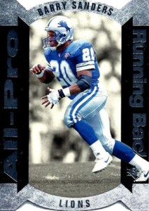 1995 SP Football All-Pro Barry Sanders