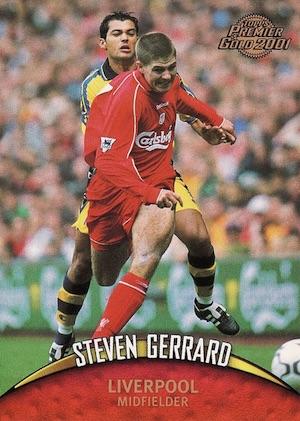 Top Steven Gerrard Cards 3