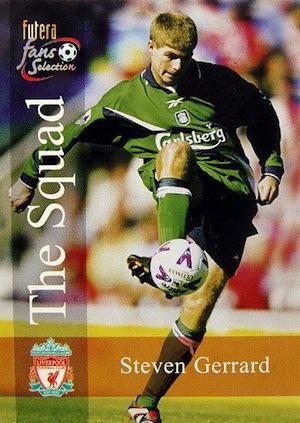 Top Steven Gerrard Cards 2