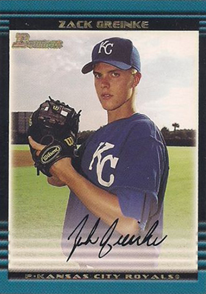Zack Greinke Rookie Cards Checklist and Guide 1