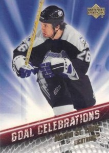 2005-06 Upper Deck Hockey Goal Celebrations