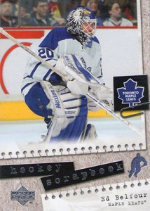 2005-06 Upper Deck Hockey Hockey Scrapbook