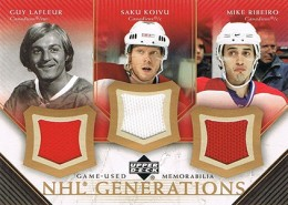 2005-06 Upper Deck Hockey NHL Generations Triples
