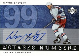 2005-06 Upper Deck Hockey Notable Numbers