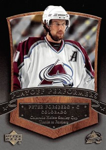 2005-06 Upper Deck Hockey Playoff Performers