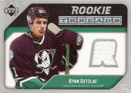 2005-06 Upper Deck Hockey Rookie Threads
