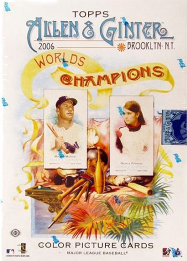 2006 Topps Allen & Ginter Baseball Cards 1