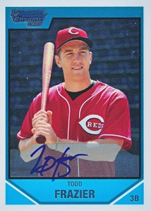 Todd Frazier Rookie Cards Checklist and Guide 7