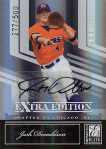 2007 Donruss Elite Extra Edition Turn of the Century Autograph Josh Donaldson