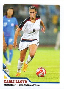 Top 10 Carli Lloyd Soccer Cards 1