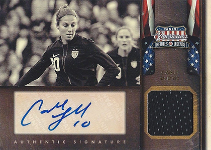 Top 10 Carli Lloyd Soccer Cards 4