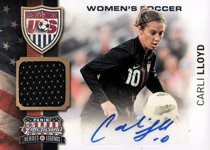 Top 10 Carli Lloyd Soccer Cards 6