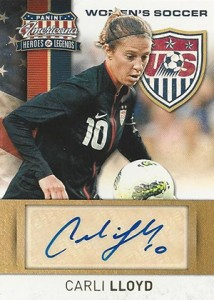 Top 10 Carli Lloyd Soccer Cards 5