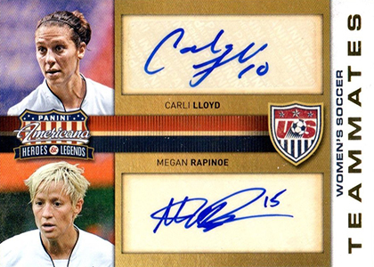 Top 10 Carli Lloyd Soccer Cards 7