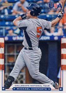 Michael Conforto Prospect Card Highlights 1