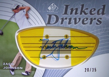 Top 5 Zach Johnson Golf Cards 4